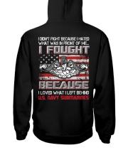 US Navy Submarines Hooded Sweatshirt thumbnail