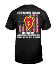 25th Infantry Division Classic T-Shirt back