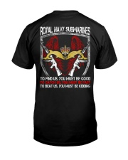 Royal Navy Submarines Classic T-Shirt back