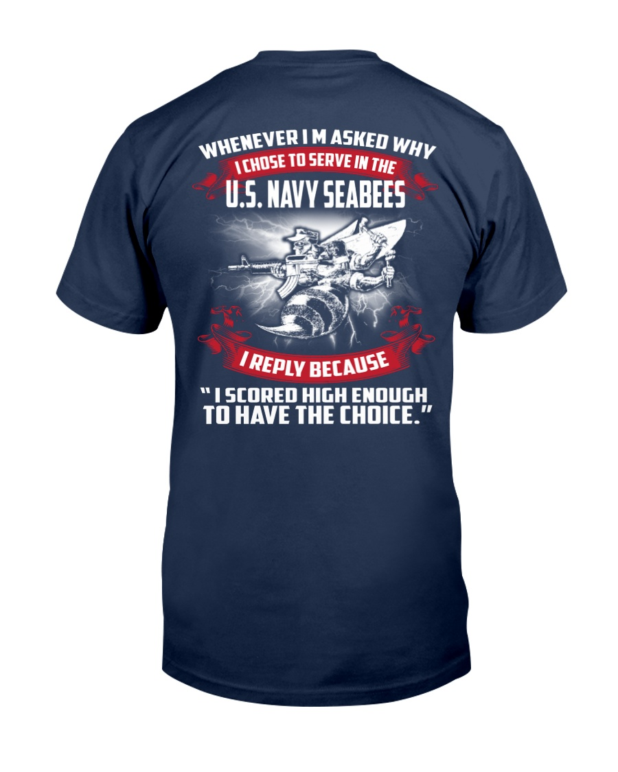 US Navy Seabees Classic T-Shirt