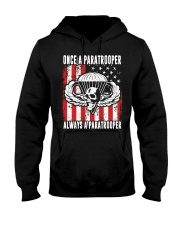 Always a Paratrooper Hooded Sweatshirt thumbnail
