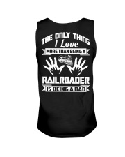 Being A Railroader Unisex Tank thumbnail