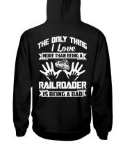 Being A Railroader Hooded Sweatshirt thumbnail