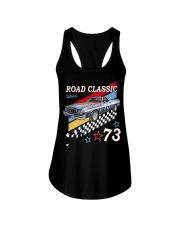 FastLane Road Classic Ladies Flowy Tank thumbnail