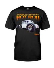 FastLane AMERICAN HISTORY HOT ROD Classic T-Shirt front