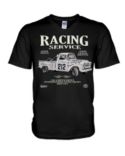 FastLane RACING SERVICE V-Neck T-Shirt thumbnail