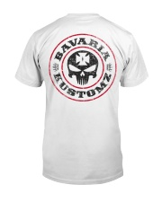 BAVARIA KUSTOMZ Original Classic T-Shirt back