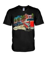 FastLane Miami V-Neck T-Shirt thumbnail