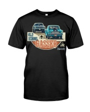 FastLane  OLD SCHOOL GASSER Classic T-Shirt front