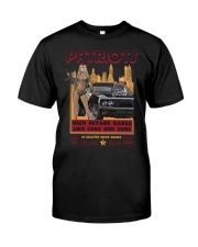 FastLane PATRIOTS Classic T-Shirt front