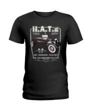FastLane H A T E Rod Ladies T-Shirt thumbnail