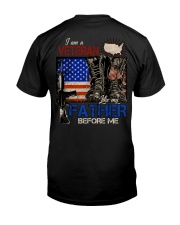 LIKE MY FATHER BEFORE ME -PERFECT GIFT FOR GRANDPA Classic T-Shirt back