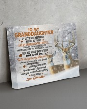 I AM PROUD OF YOU - LOVELY GIFT FOR GRANDDAUGHTER 14x11 Gallery Wrapped Canvas Prints aos-canvas-pgw-14x11-lifestyle-front-15