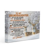 I AM PROUD OF YOU - LOVELY GIFT FOR GRANDDAUGHTER 14x11 Gallery Wrapped Canvas Prints front