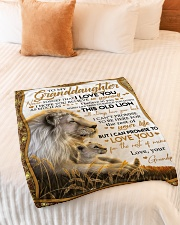 """NEVER FORGET THAT I LOVE YOU Small Fleece Blanket - 30"""" x 40"""" aos-coral-fleece-blanket-30x40-lifestyle-front-01"""