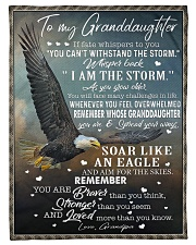 """YOU CAN'T WITHSTAND THE STORM Small Fleece Blanket - 30"""" x 40"""" front"""