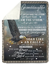 YOU CAN'T WITHSTAND THE STORM Sherpa Fleece Blanket tile