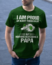 NOTHING BEATS BEING A PAPA Classic T-Shirt apparel-classic-tshirt-lifestyle-front-46