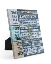 1 DAY LEFT - GET YOURS NOW 8x10 Easel-Back Gallery Wrapped Canvas thumbnail