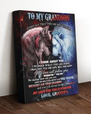 I THINK ABOUT YOU - BEST GIFT FOR GRANDSON 11x14 Gallery Wrapped Canvas Prints aos-canvas-pgw-11x14-lifestyle-front-17
