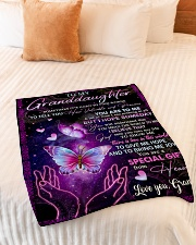 """HOW VALUABLE AND PRECIOUS YOU ARE TO ME Small Fleece Blanket - 30"""" x 40"""" aos-coral-fleece-blanket-30x40-lifestyle-front-01"""