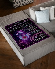 """HOW VALUABLE AND PRECIOUS YOU ARE TO ME Small Fleece Blanket - 30"""" x 40"""" aos-coral-fleece-blanket-30x40-lifestyle-front-03"""