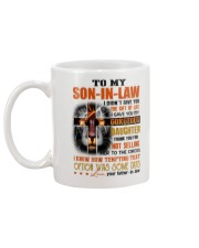 THE GIFT OF LIFE - SPECIAL GIFT FOR SON-IN-LAW Mug back