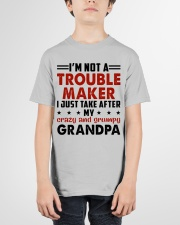 I JUST TAKE AFTER - LOVEY GIFT FOR GRANDCHILDREN Youth T-Shirt garment-youth-tshirt-front-01