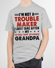 I JUST TAKE AFTER - LOVEY GIFT FOR GRANDCHILDREN Youth T-Shirt garment-youth-tshirt-front-lifestyle-01