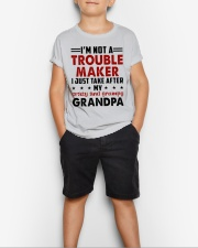 I JUST TAKE AFTER - LOVEY GIFT FOR GRANDCHILDREN Youth T-Shirt lifestyle-youth-tshirt-front-1