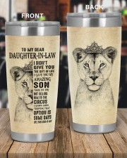 THE GIFT OF LIFE - BEST GIFT FOR DAUGHTER-IN-LAW 20oz Tumbler aos-20oz-tumbler-lifestyle-front-56