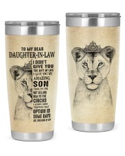 THE GIFT OF LIFE - BEST GIFT FOR DAUGHTER-IN-LAW 20oz Tumbler front