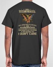 PROUD TO BE A VETERAN - PERFECT GIFT FOR GRANDPA Classic T-Shirt garment-tshirt-unisex-back-04