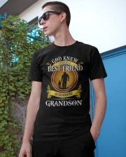 BEST FRIEND - PERFECT GIFT FOR GRANDPA Classic T-Shirt apparel-classic-tshirt-lifestyle-17
