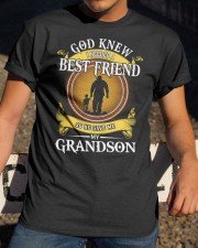 BEST FRIEND - PERFECT GIFT FOR GRANDPA Classic T-Shirt apparel-classic-tshirt-lifestyle-28