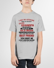I GET MY ATTITUDE - BEST GIFT FOR GRANDSON Youth T-Shirt garment-youth-tshirt-front-01