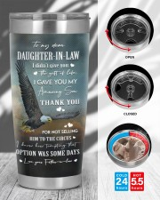 THANK YOU - SPECIAL GIFT FOR DAUGHTER-IN-LAW 20oz Tumbler aos-20oz-tumbler-lifestyle-front-45