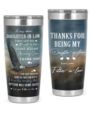 THANK YOU - SPECIAL GIFT FOR DAUGHTER-IN-LAW 20oz Tumbler front