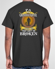 PA AND GRANDDAUGHTER A SPECIAL BOND Classic T-Shirt garment-tshirt-unisex-back-04