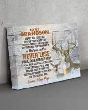 YOU WILL NEVER LOSE - GREAT GIFT FOR GRANDSON 14x11 Gallery Wrapped Canvas Prints aos-canvas-pgw-14x11-lifestyle-front-15