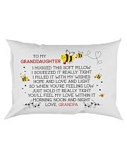 HOPE AND LOVE - GRANDPA TO GRANDDAUGHTER Rectangular Pillowcase front