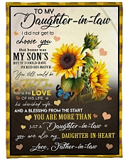 """YOU ARE MORE THAN JUST A DAUGHTER-IN-LAW Large Fleece Blanket - 60"""" x 80"""" front"""