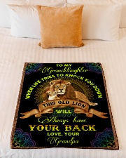 """1 DAY LEFT - GET YOURS NOW Small Fleece Blanket - 30"""" x 40"""" aos-coral-fleece-blanket-30x40-lifestyle-front-04"""