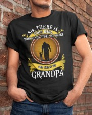 WHO KINDA STOLE MY HEART- PERFECT GIFT FOR GRANDPA Classic T-Shirt apparel-classic-tshirt-lifestyle-26