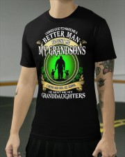 MAKE ME A BETTER MAN - PERFECT GIFT FOR GRANDPA Classic T-Shirt apparel-classic-tshirt-lifestyle-front-103