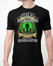 MAKE ME A BETTER MAN - PERFECT GIFT FOR GRANDPA Classic T-Shirt apparel-classic-tshirt-lifestyle-front-61