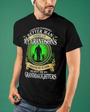 MAKE ME A BETTER MAN - PERFECT GIFT FOR GRANDPA Classic T-Shirt apparel-classic-tshirt-lifestyle-front-87