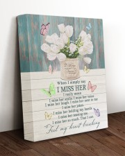 WHEN I SIMPLY SAY I MISS HER 11x14 Gallery Wrapped Canvas Prints aos-canvas-pgw-11x14-lifestyle-front-17