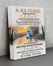 À MA FEMME 11x14 Gallery Wrapped Canvas Prints aos-canvas-pgw-11x14-lifestyle-front-15