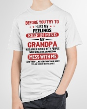 MESS WITH ME - TO GRANDSON FROM GRANDPA Youth T-Shirt garment-youth-tshirt-front-lifestyle-01
